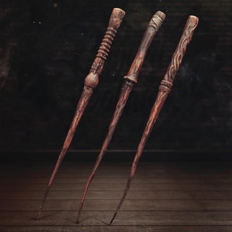 Télécharger STL Baguette Pottermore 3 - Harry Potter, tolgaaxu