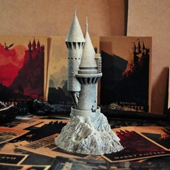 Descargar STL Torre Búho - Harry Potter, tolgaaxu