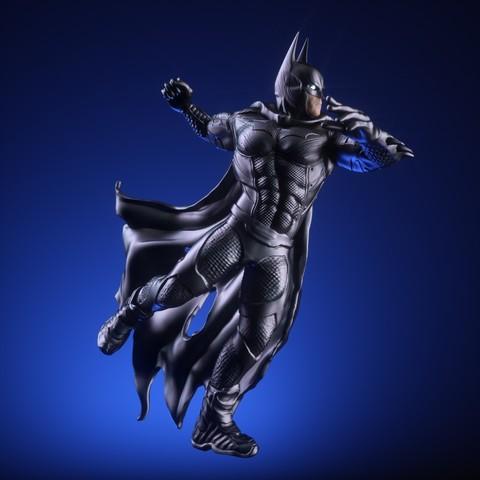 10.jpg Download OBJ file BATMAN Battle Pose • 3D print template, tolgaaxu