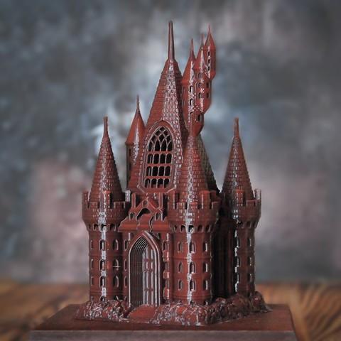 1.jpg Download OBJ file The Five Tower Hall • 3D printable template, tolgaaxu