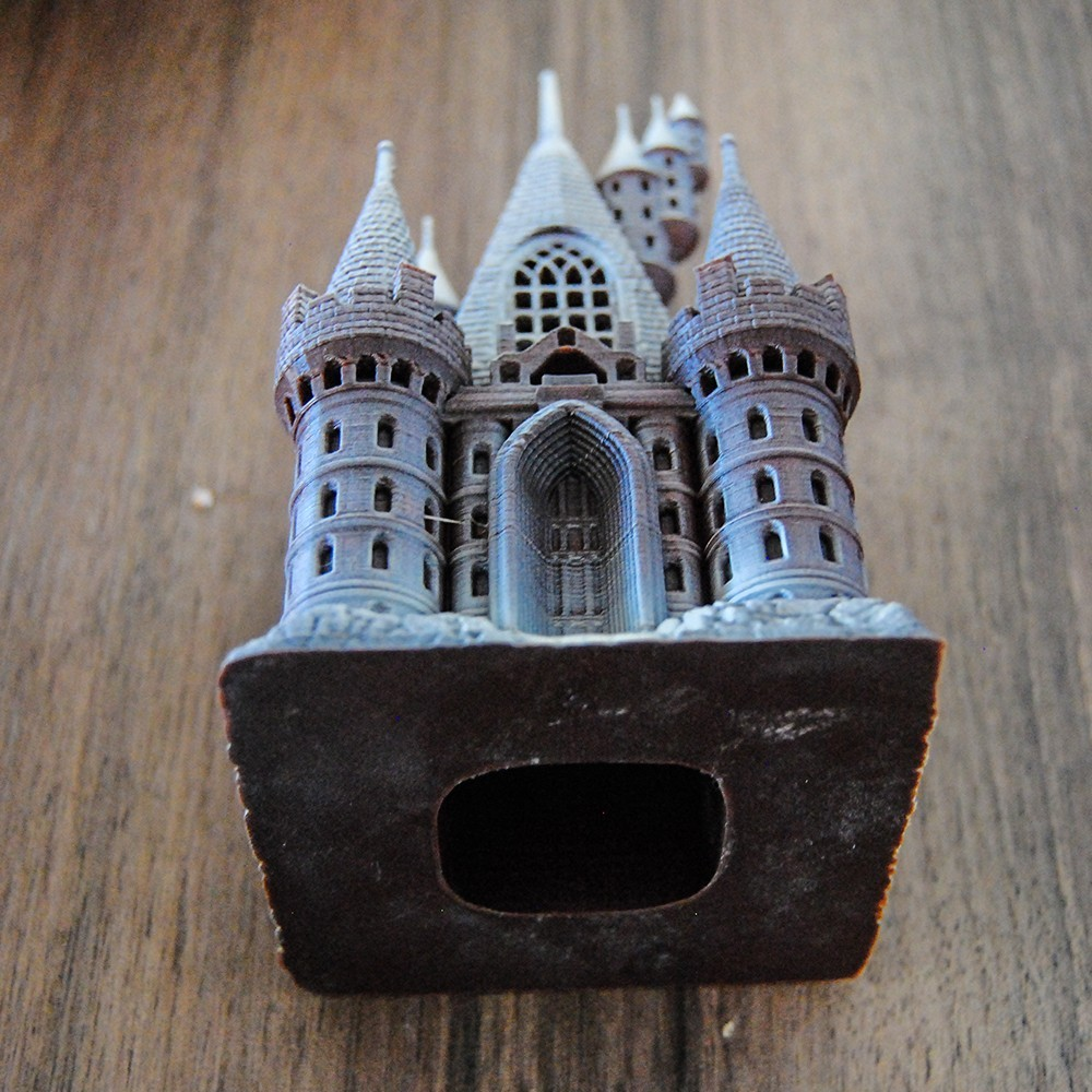 Castle3.jpg Download OBJ file The Five Tower Hall • 3D printable template, tolgaaxu