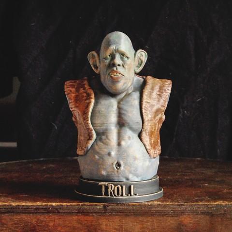 Download 3D printing models Troll - Sorcerer's Stone, tolgaaxu
