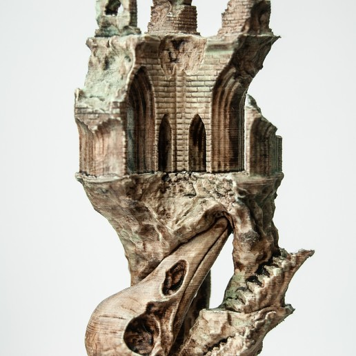 4.jpg Télécharger fichier OBJ Ancien château de Raven • Modèle imprimable en 3D, tolgaaxu