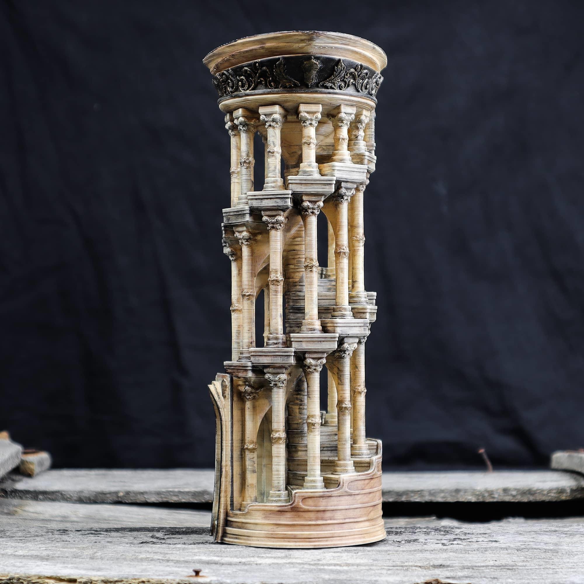 3.jpg Download OBJ file Eternity Columns • 3D printer model, tolgaaxu
