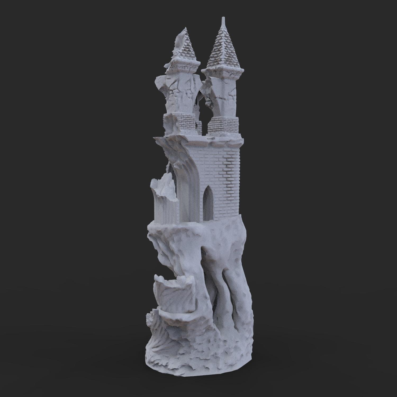 11.jpg Télécharger fichier OBJ Ancien château de Raven • Modèle imprimable en 3D, tolgaaxu