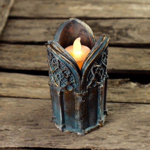 8.jpg Download 3DS file Gothic Candle Holder • Object to 3D print, tolgaaxu