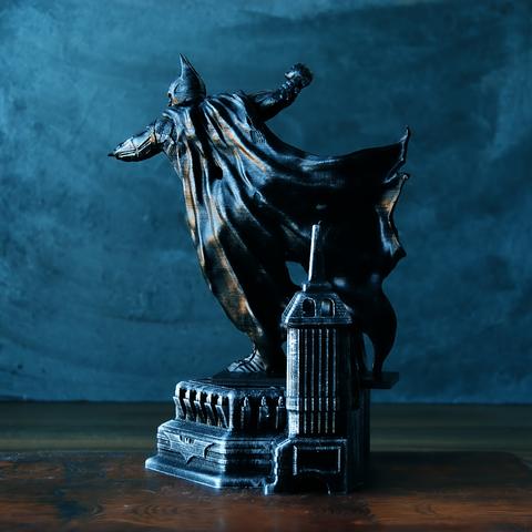 3.png Download OBJ file BATMAN Battle Pose • 3D print template, tolgaaxu