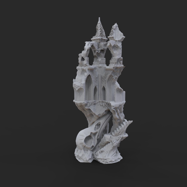 9.jpg Télécharger fichier OBJ Ancien château de Raven • Modèle imprimable en 3D, tolgaaxu