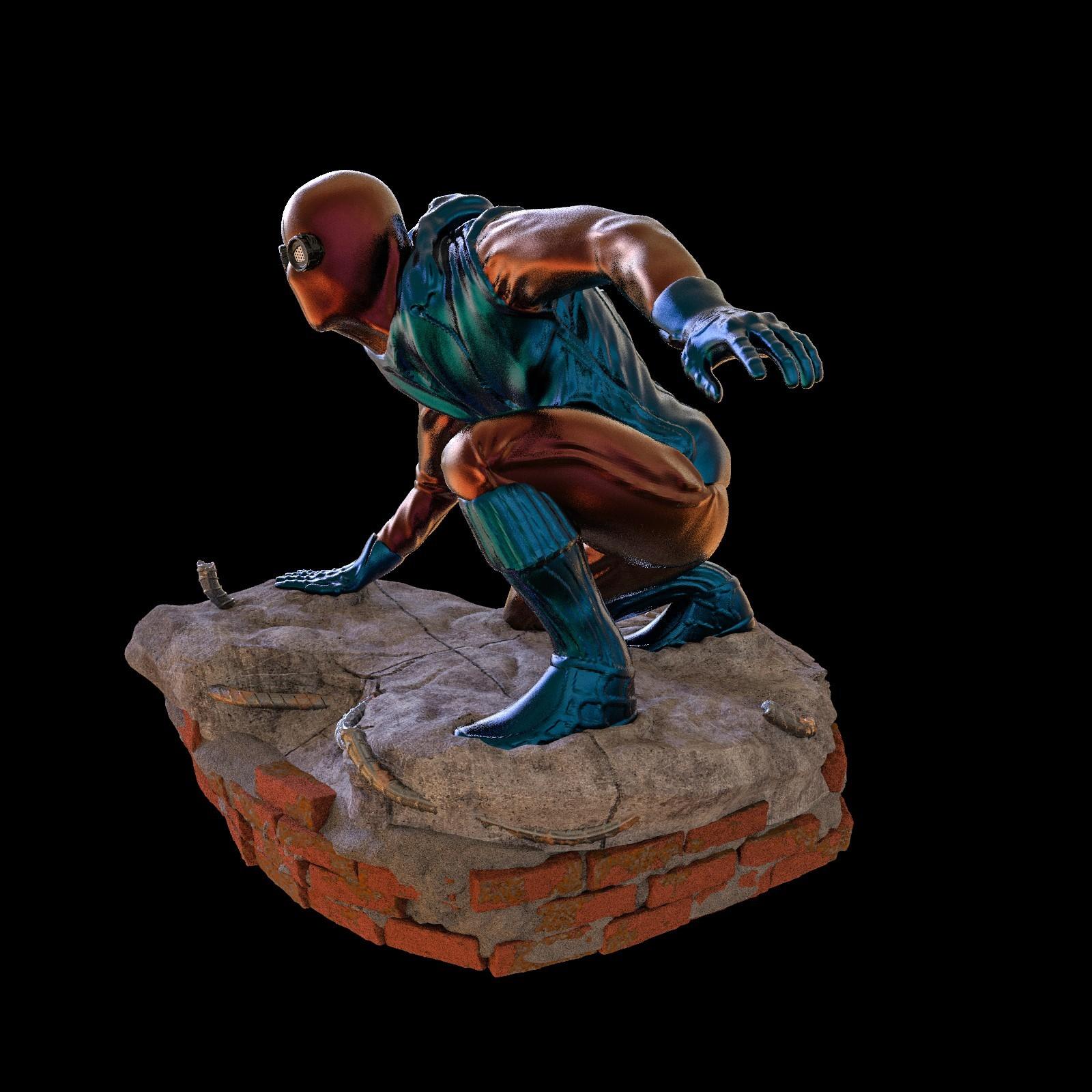 21.jpg Download STL file Spider-Man Homemade Suit • Design to 3D print, tolgaaxu