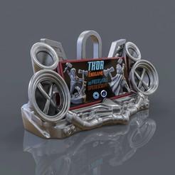 1.jpg Télécharger fichier OBJ Support / Afficheur de Téléphone Punk • Modèle imprimable en 3D, tolgaaxu