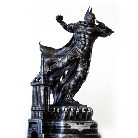 3D print files BATMAN Battle Pose, tolgaaxu