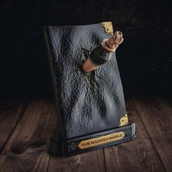 Télécharger fichier 3D Journal de Tom Riddle et le Croc du Basilic - Harry Potter, tolgaaxu