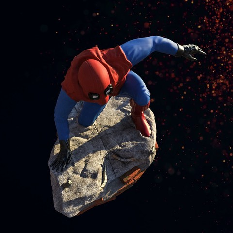 10.jpg Download STL file Spider-Man Homemade Suit • Design to 3D print, tolgaaxu