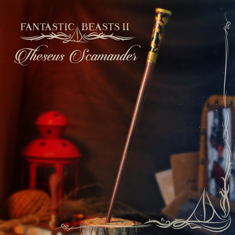 Download 3D printer designs THESEUS SCAMANDER WAND - FANTASTIC BEASTS, tolgaaxu