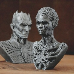 1.JPG Download STL file Wight Boy - Game of Thrones Walkers • Design to 3D print, tolgaaxu
