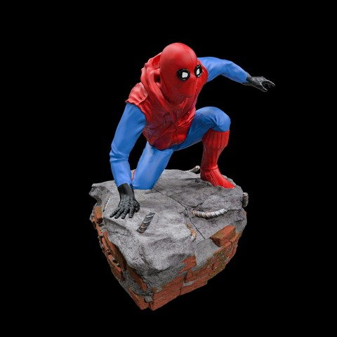 17.jpg Download STL file Spider-Man Homemade Suit • Design to 3D print, tolgaaxu