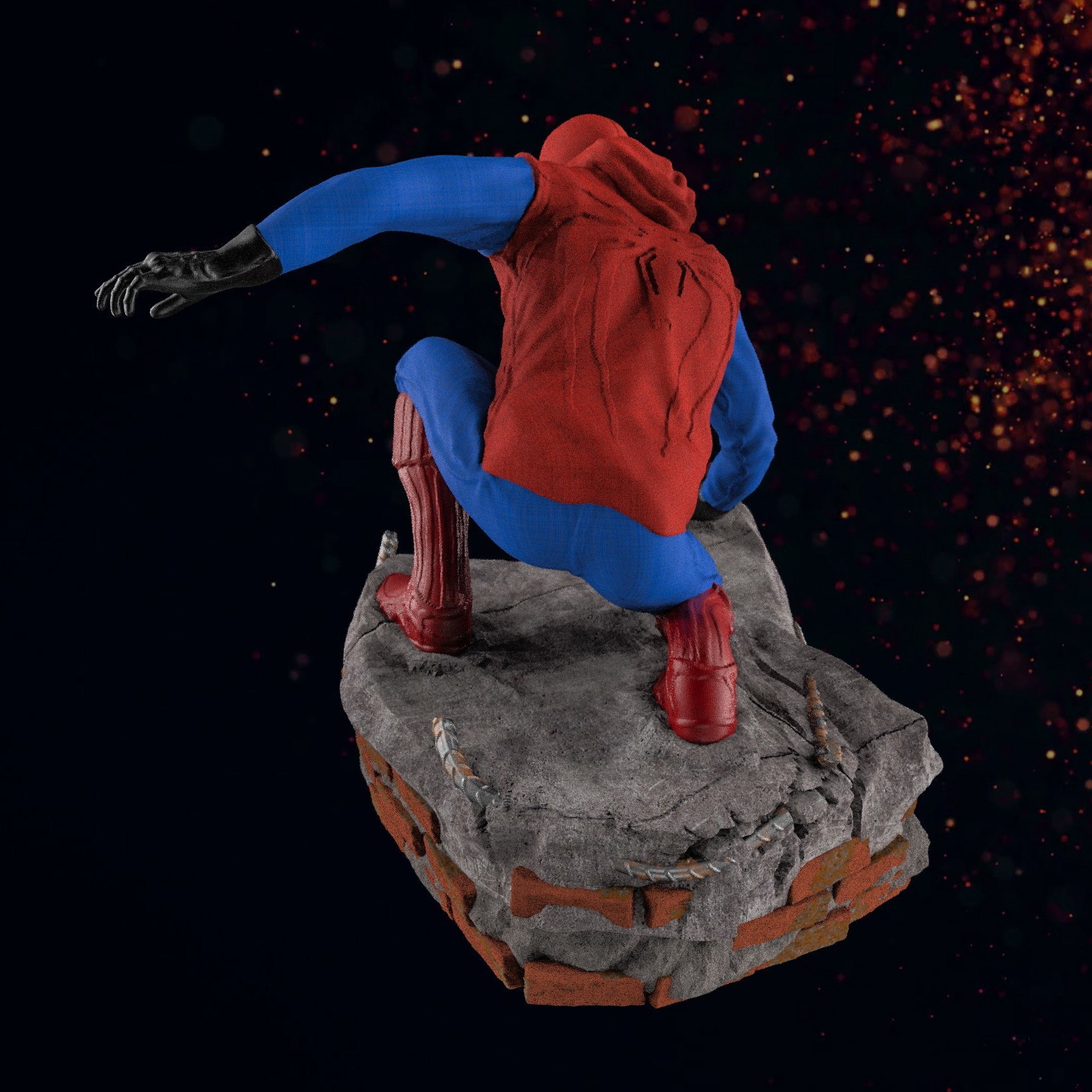 13.jpg Download STL file Spider-Man Homemade Suit • Design to 3D print, tolgaaxu