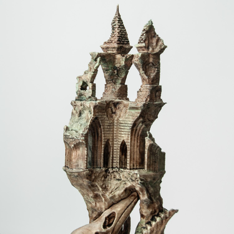 5.jpg Télécharger fichier OBJ Ancien château de Raven • Modèle imprimable en 3D, tolgaaxu