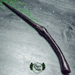 Fichier impression 3D BELLATRIX LESTRANGE WAND - HARRY POTTER, tolgaaxu