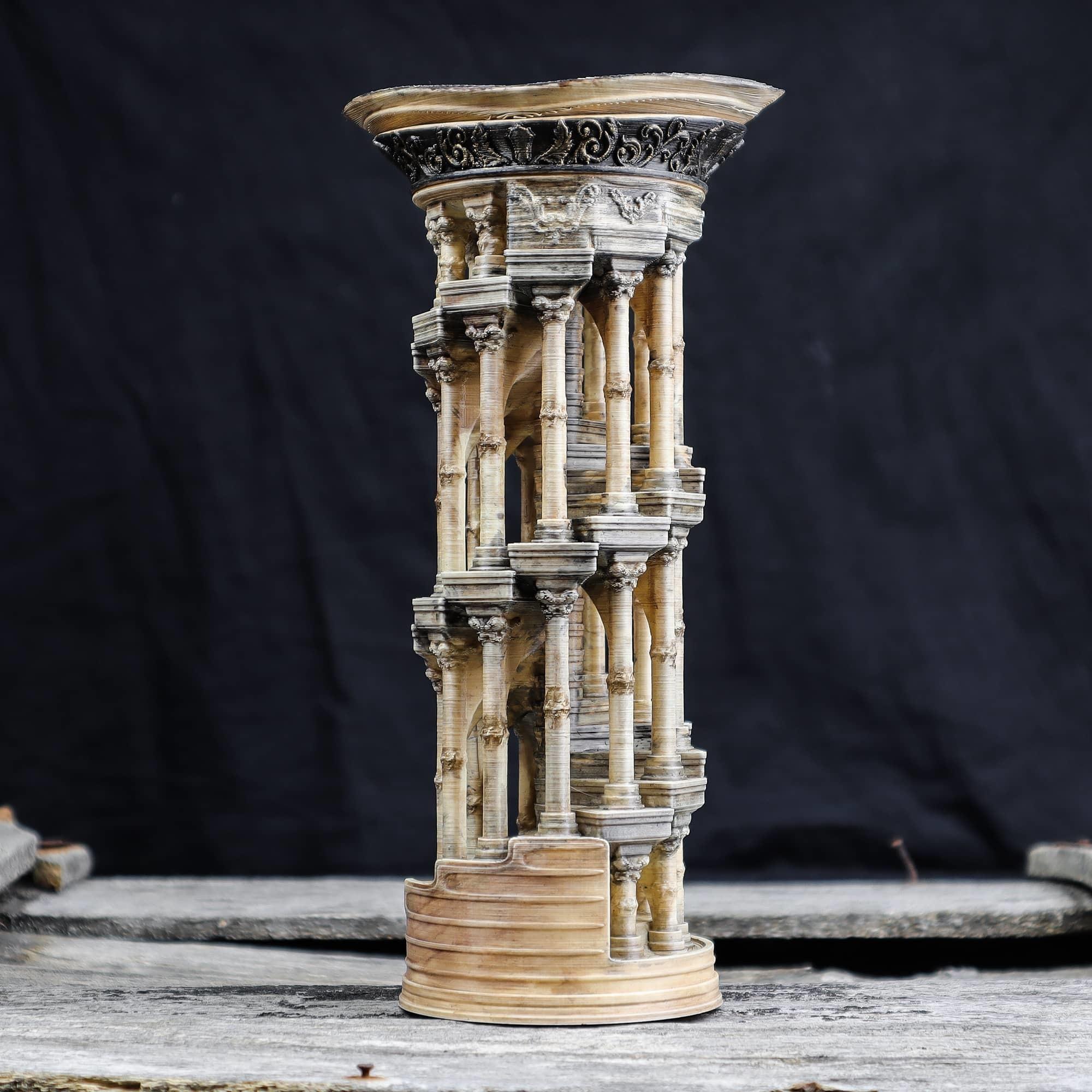 5.jpg Download OBJ file Eternity Columns • 3D printer model, tolgaaxu