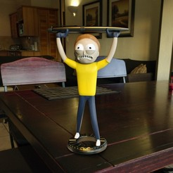 Free stl MORTY SMITH PEN HOLDER, tolgaaxu