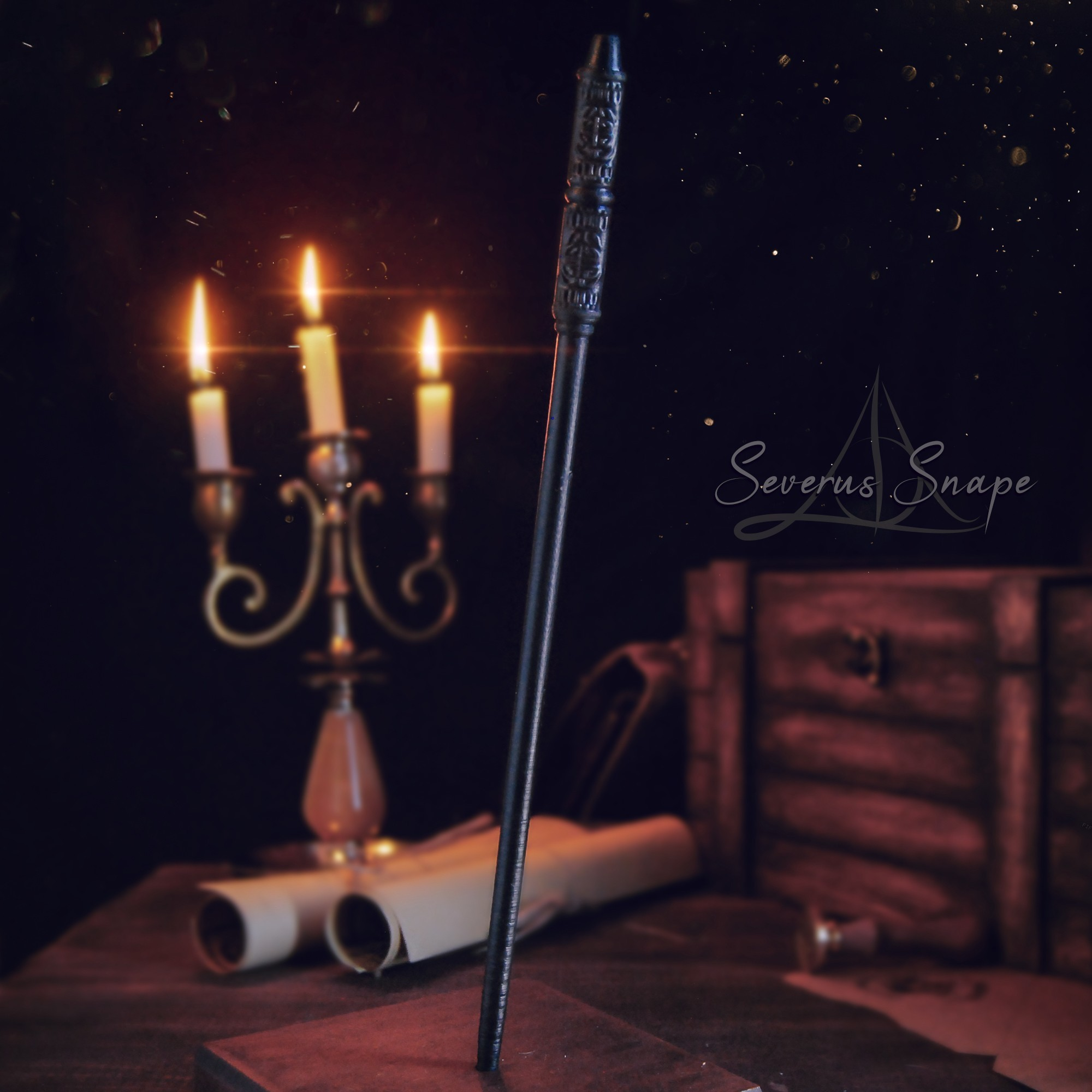 Severus Snape.jpg Download 3DS file SEVERUS SNAPE WAND - HARRY POTTER • 3D printable model, tolgaaxu