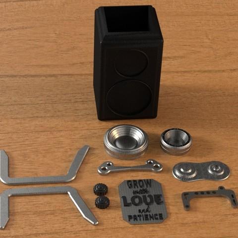 4.jpg Download 3DS file RETRO CAMERA FLOWERPOT • 3D printer template, tolgaaxu