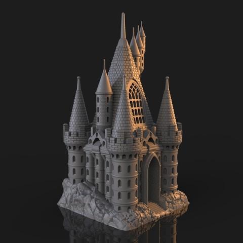 11.jpg Download OBJ file The Five Tower Hall • 3D printable template, tolgaaxu