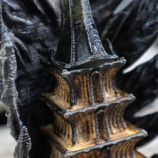 11.jpg Download OBJ file Shadow Wings Tower • 3D printing design, tolgaaxu