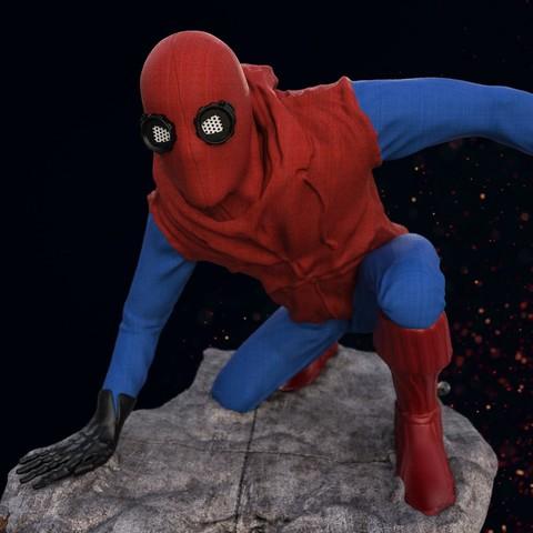 5.jpg Download STL file Spider-Man Homemade Suit • Design to 3D print, tolgaaxu