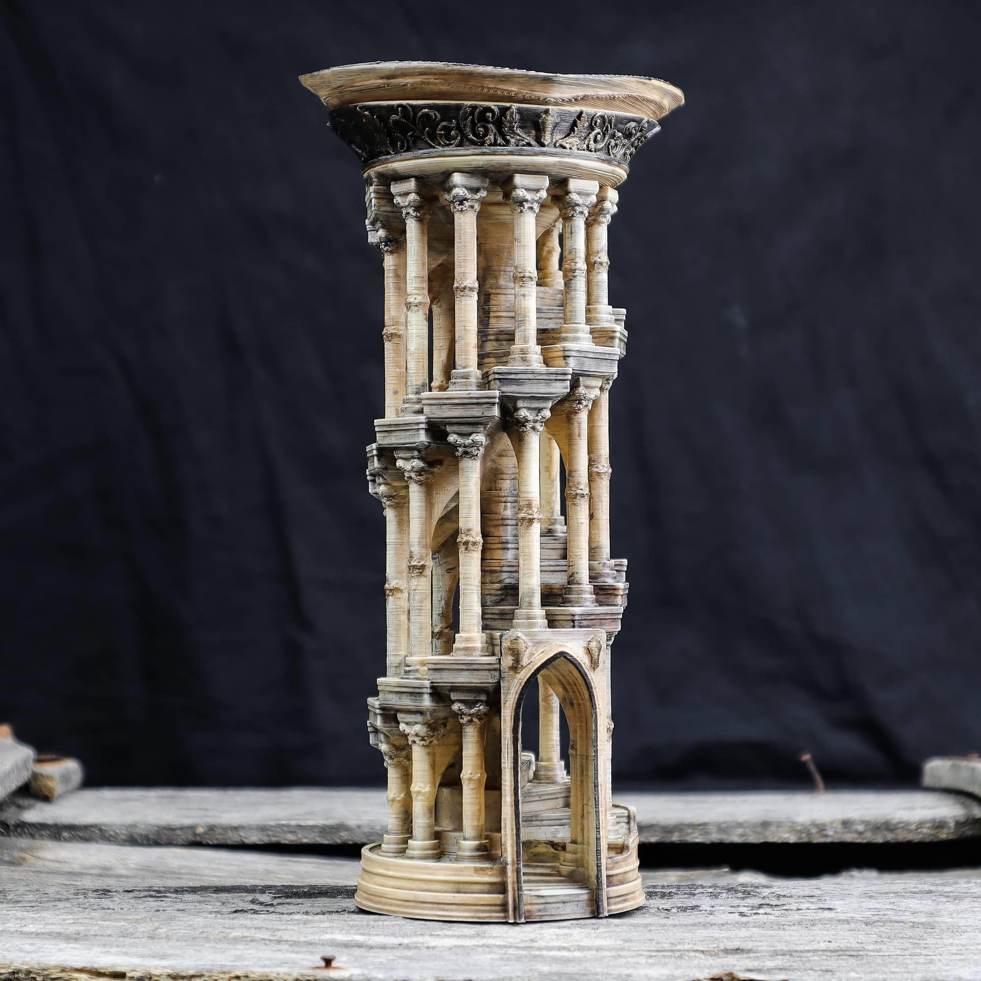 8.jpg Download OBJ file Eternity Columns • 3D printer model, tolgaaxu