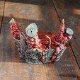 Télécharger plan imprimante 3D Buste Deadpool - Brisé et explosé, tolgaaxu