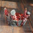 STL Deadpool Bust - Shattered & Exploded, tolgaaxu