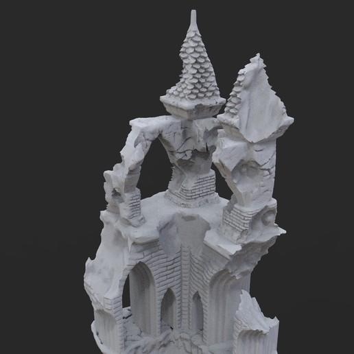 16.jpg Télécharger fichier OBJ Ancien château de Raven • Modèle imprimable en 3D, tolgaaxu