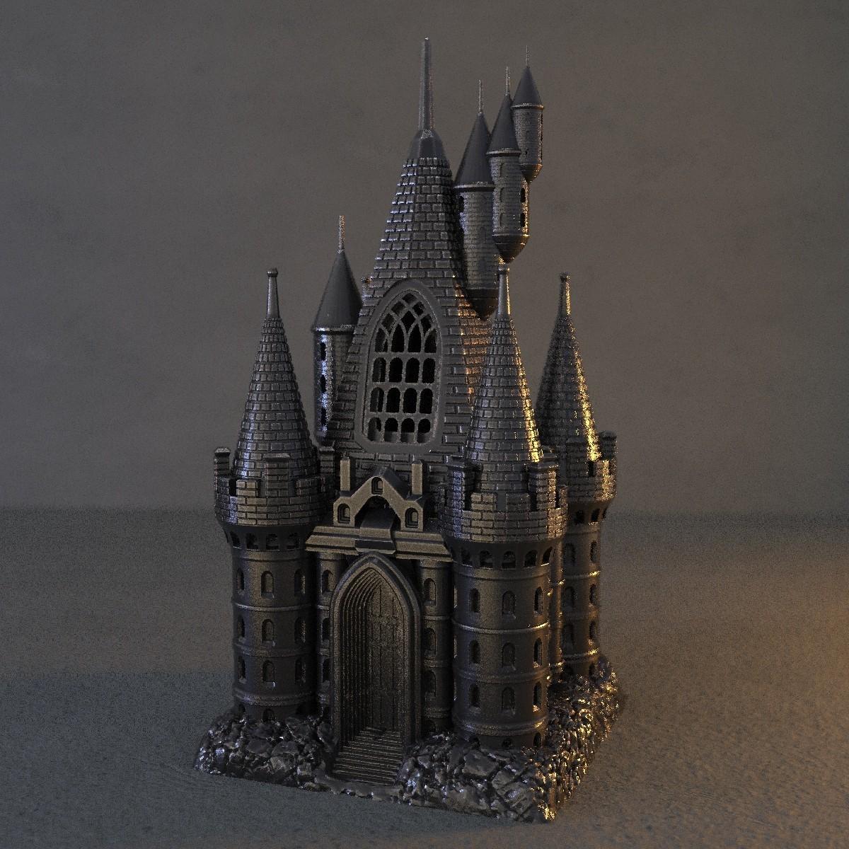 5.jpg Download OBJ file The Five Tower Hall • 3D printable template, tolgaaxu