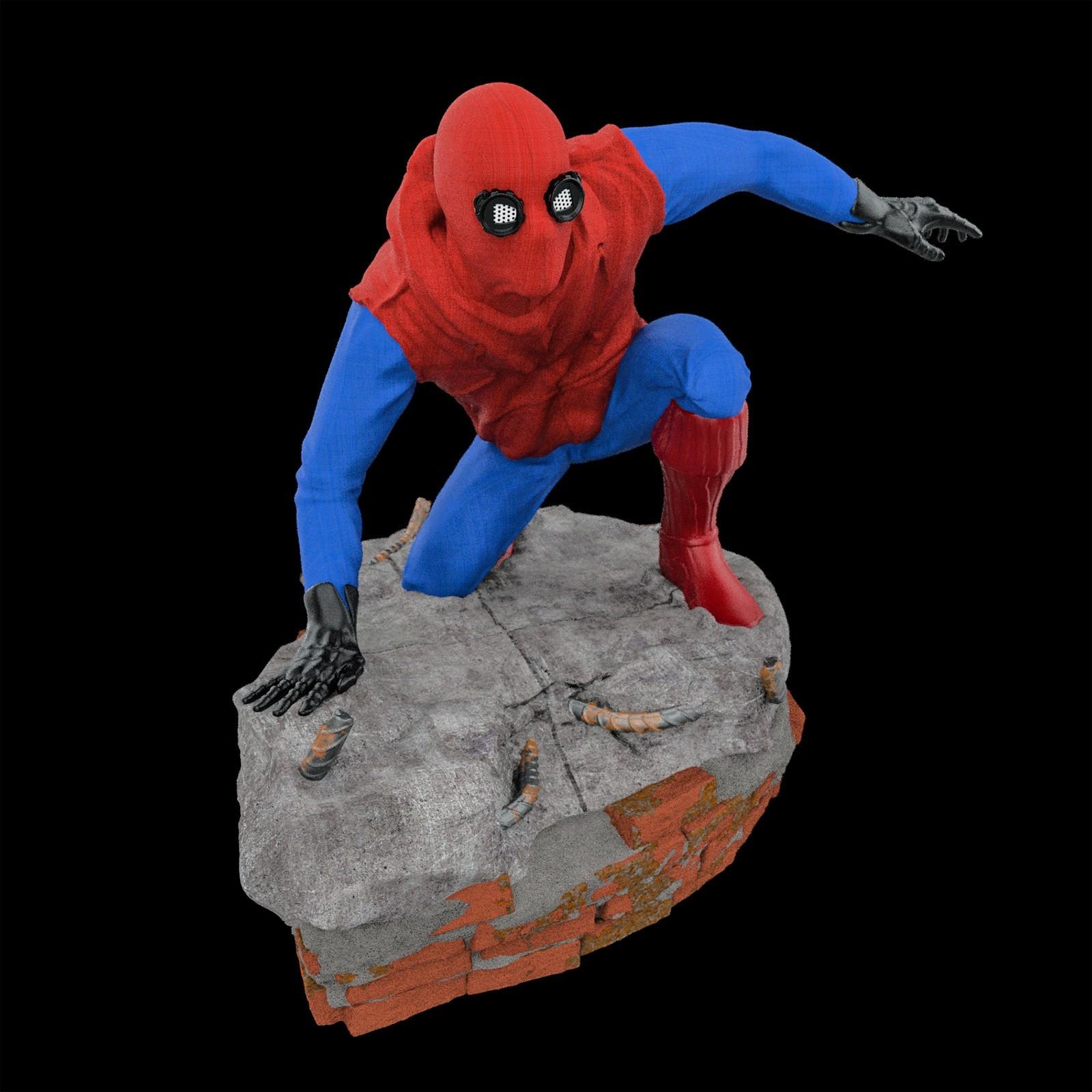 15.jpg Download STL file Spider-Man Homemade Suit • Design to 3D print, tolgaaxu