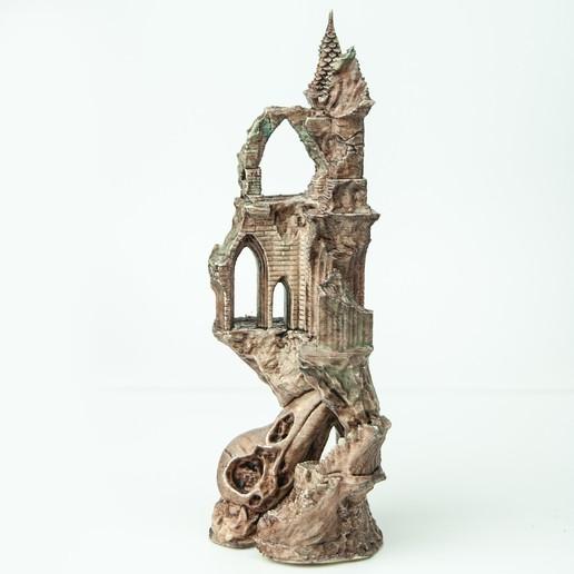 3.jpg Télécharger fichier OBJ Ancien château de Raven • Modèle imprimable en 3D, tolgaaxu