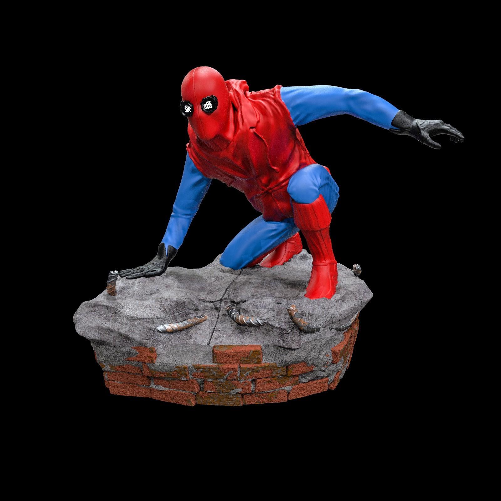 16.jpg Download STL file Spider-Man Homemade Suit • Design to 3D print, tolgaaxu