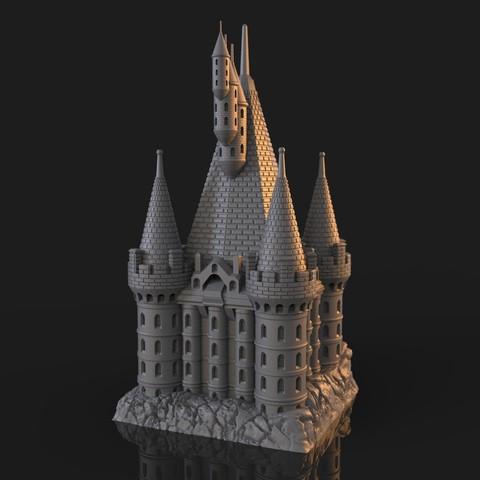 10.jpg Download OBJ file The Five Tower Hall • 3D printable template, tolgaaxu