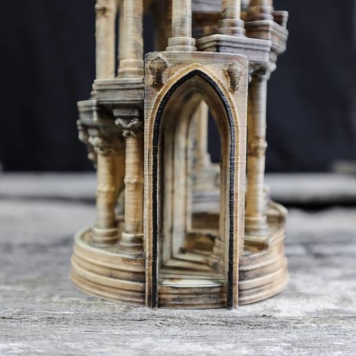 17.jpg Download OBJ file Eternity Columns • 3D printer model, tolgaaxu