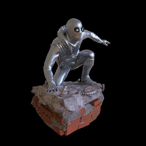 27.jpg Download STL file Spider-Man Homemade Suit • Design to 3D print, tolgaaxu