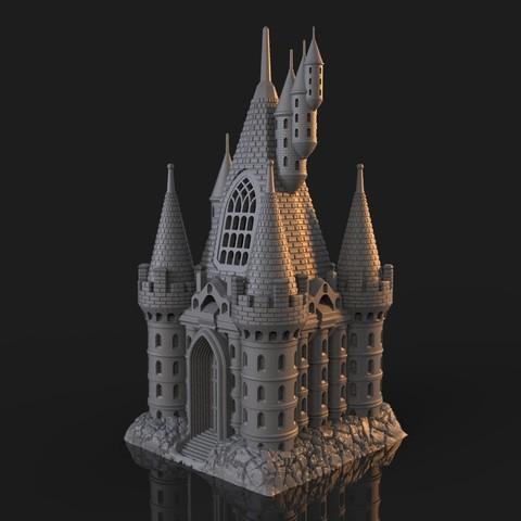 7.jpg Download OBJ file The Five Tower Hall • 3D printable template, tolgaaxu