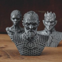 1.JPG Download OBJ file White Walker - Game of Thrones Walkers • 3D printable model, tolgaaxu
