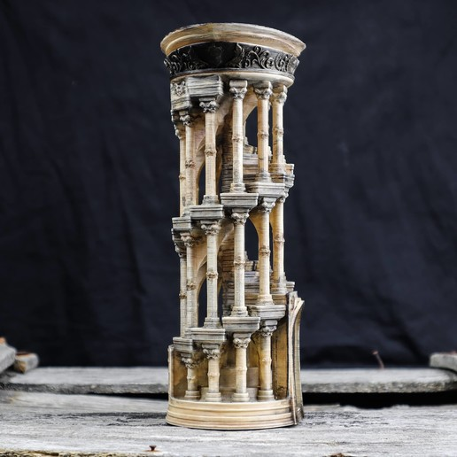 7.jpg Download OBJ file Eternity Columns • 3D printer model, tolgaaxu