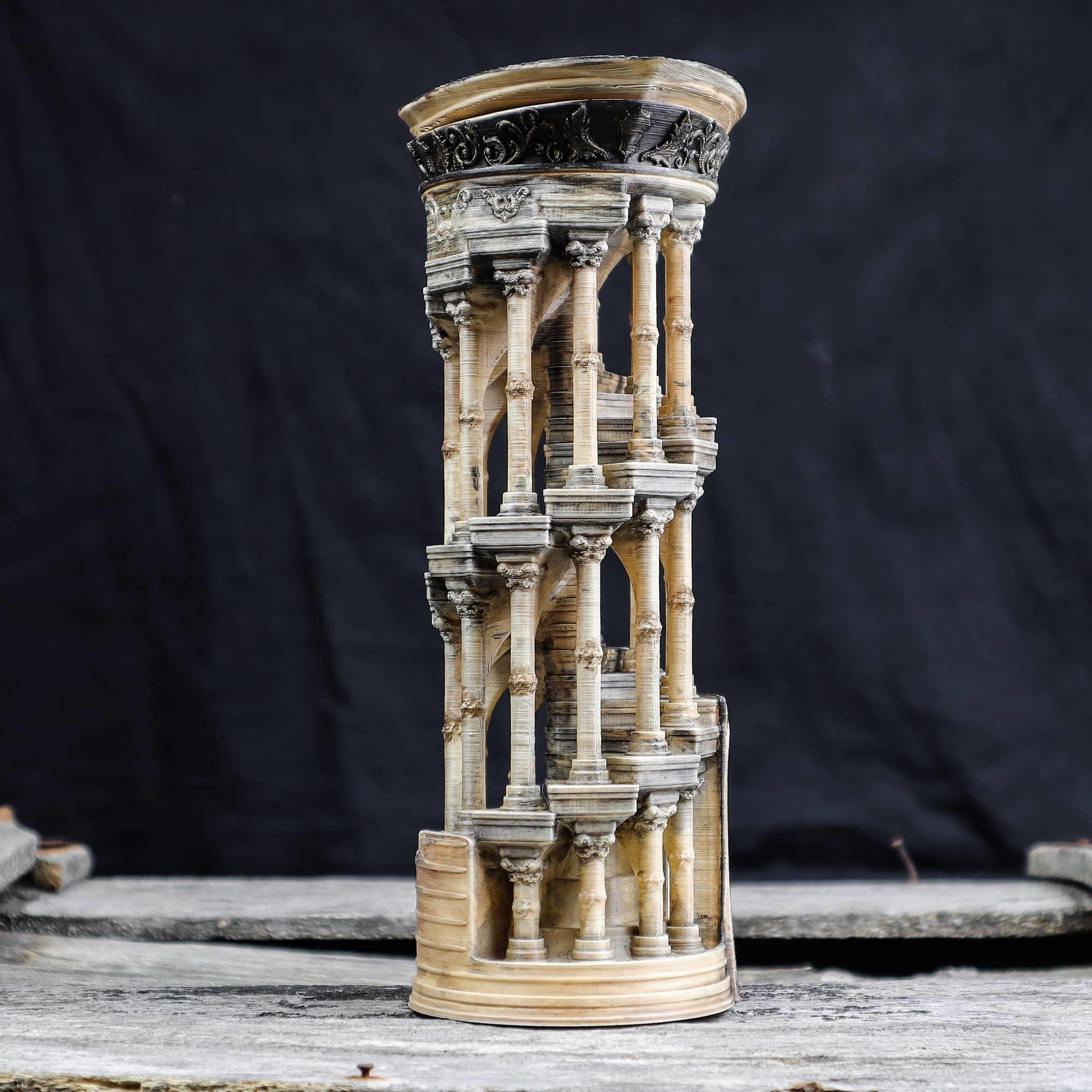 6.jpg Download OBJ file Eternity Columns • 3D printer model, tolgaaxu