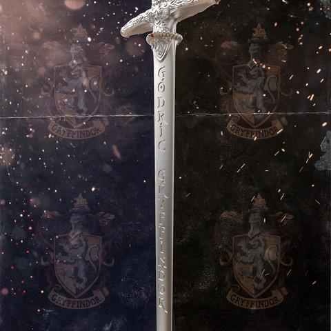 2.jpg Download STL file Godric Gryffindor's Sword - Harry Potter • 3D printing template, tolgaaxu