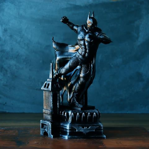 1.png Download OBJ file BATMAN Battle Pose • 3D print template, tolgaaxu