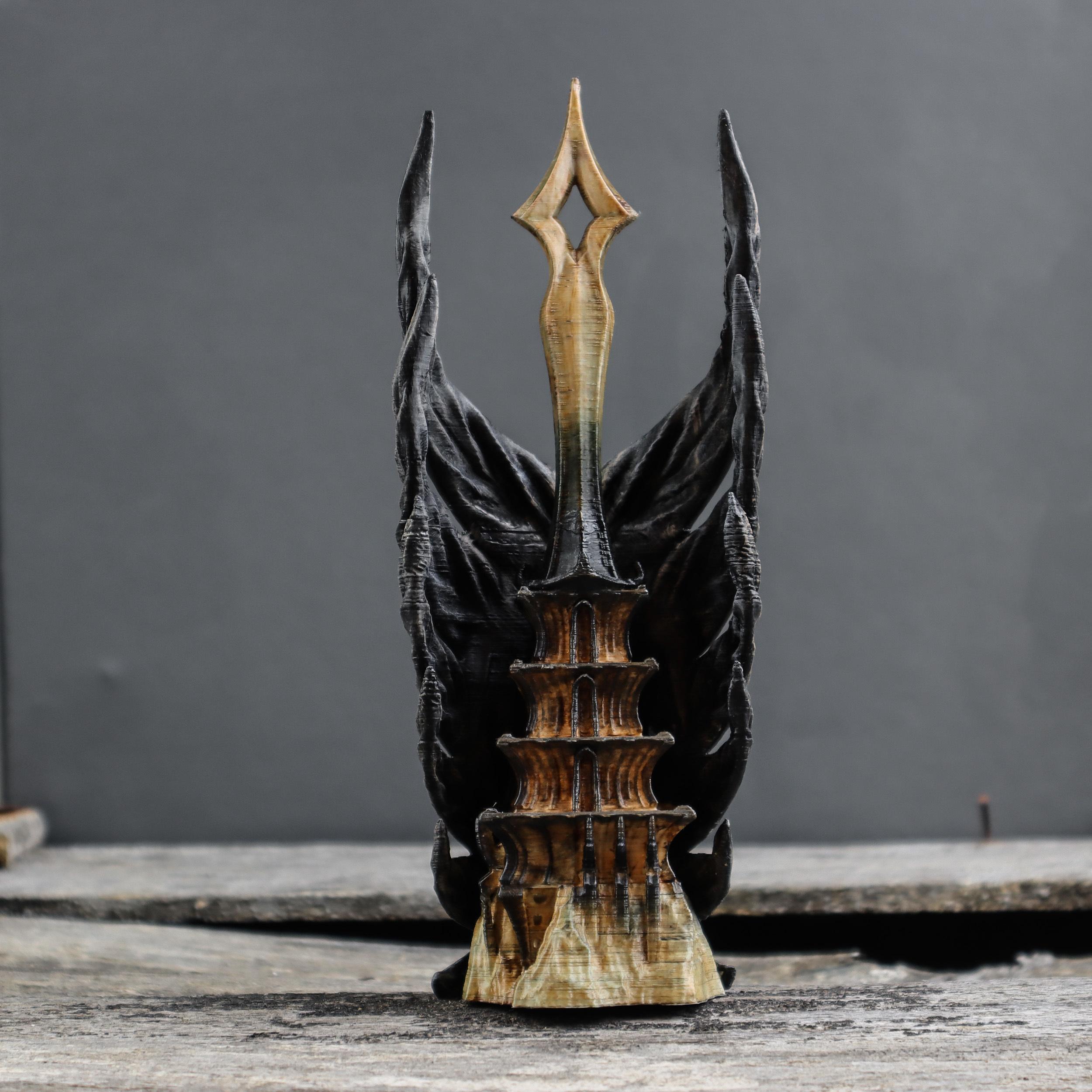 6.jpg Download OBJ file Shadow Wings Tower • 3D printing design, tolgaaxu
