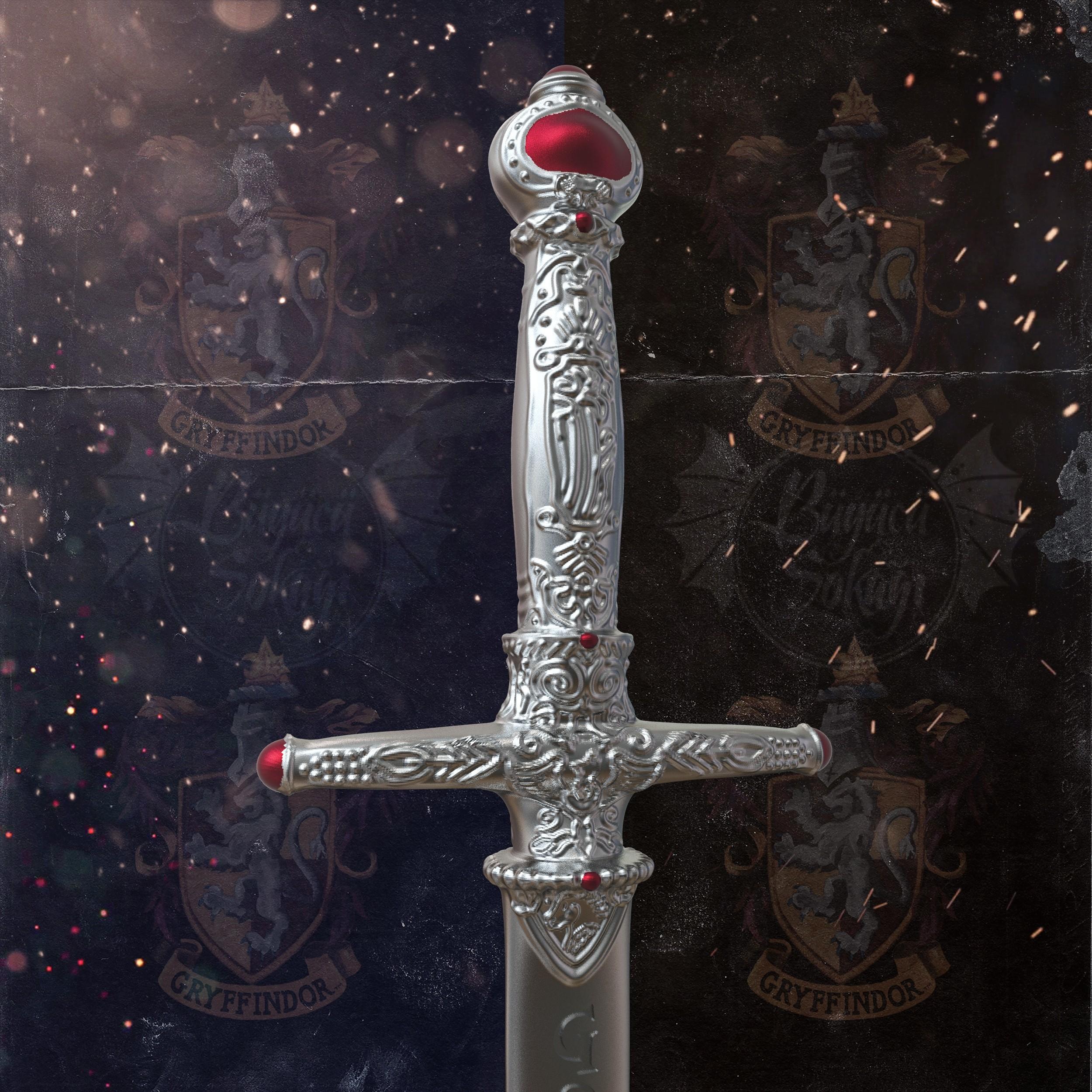 1.jpg Download STL file Godric Gryffindor's Sword - Harry Potter • 3D printing template, tolgaaxu