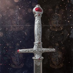 3D printer files Godric Gryffindor's Sword - Harry Potter, tolgaaxu